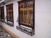 Решетки на окна под заказ от производителя по доступной цене в Донецке